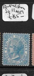 BRITISH HONDURAS (P2808B) QV 1P  SG11  MOG