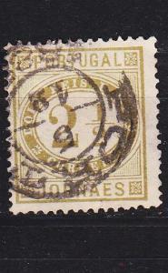 PORTUGAL [1876] MiNr 0046 bB ( O/used )