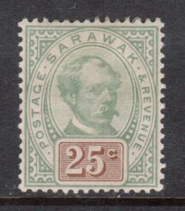 Sarawak #18 Mint