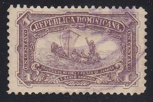 Dominican Republic - 1899 - SC 100 - Used