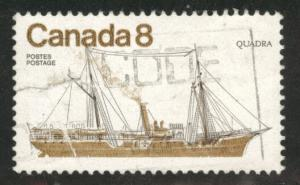 Canada Scott 673 used 1975 ship stamp