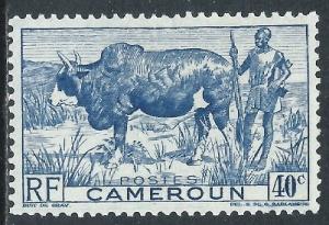 Cameroun, Sc #306, 40c MH