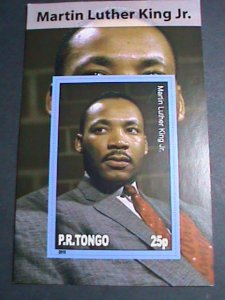 TONGA-2010 FAMOUS PERSON-MARTIN LUTHER KING JR-IMPERF:MNH S/S SHEET-VERY FINE