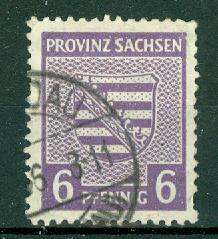 Germany - Russian Zone - Saxony - Scott 13N4