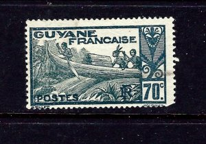 French Guiana 128 Used 1940 issue