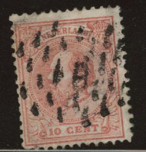 Netherlands Scott 25 used from 1872-1888 set