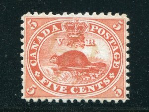Canada #15    Unused   VF    - Lakeshore Philatelics