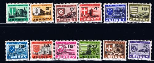 Jersey J21-32 NH 1978 Postage Dues