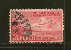 Cuba C6 Airmail Used