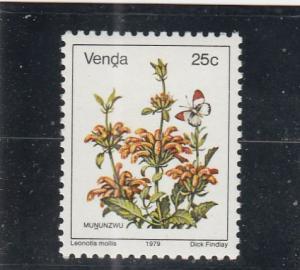Venda  Scott#  19  MNH  (1979 Flowers)