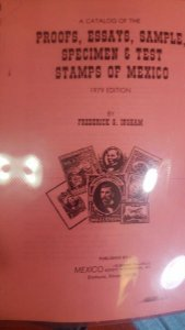 RO) 1979 MEXICO, CATALOG PROOF - ESSAYS - SAMPLE - SPECIMEN AND TEST - STAMP OF