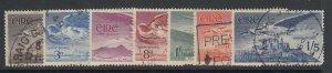 Ireland, Scott C1-C6 (SG 140-143b), used