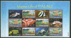 PK099 2002 PALAU FISH & MARINE LIFE OF PALAU 1SH MNH STAMPS