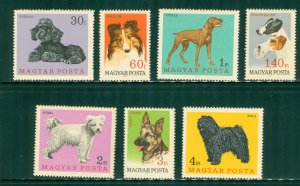 R4-0021 HUNGARY 1835-41 MNH  DOGS SCV $3.00 BIN $1.75 (12)