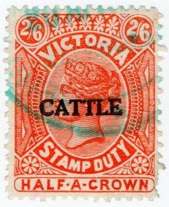 (I.B) Australia - Victoria Revenue : Cattle Duty 2/6d