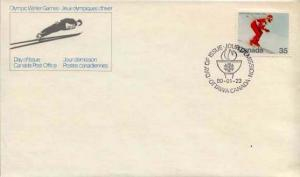 Canada, First Day Cover, Sports