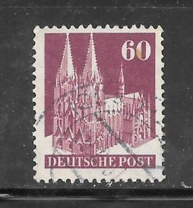 Germany #654A Used Perf 14 Single