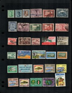 Iraq  mint hinged  and used  lot of 29