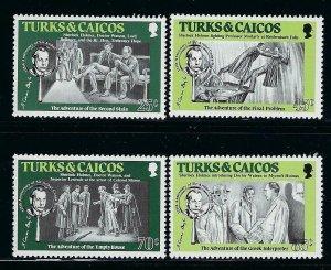 Turks and Caicos Islands Scott 629-632 Mint Never Hinged - Sherlock Holmes