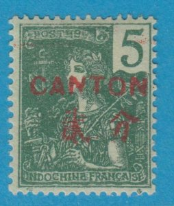 FRANCE OFFICES IN CHINA CANTON 34 MINT HINGED OG * NO FAULTS VERY FINE
