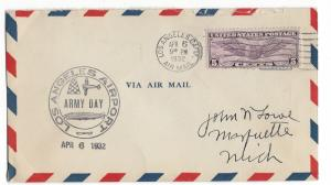United States, C12, Postal History Air Mail Cover, Used #1