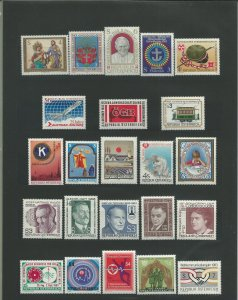 1983 Austria Unused Never Hinged Year Set