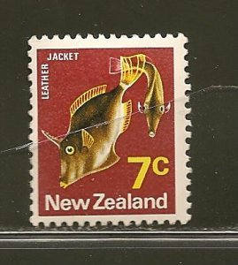 New Zealand 446 Leather Jackets Fish Mint Hinged