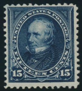 #274 15c 1896 F-VF OG NH CV $600 AU830