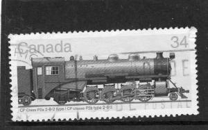 Canada TRain Engines used
