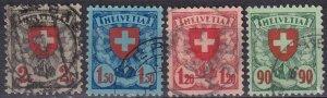 Switzerland #200-03  F-VF Used  CV $31.00  (Z6173)