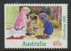 Australia SG 1383  Used  x booklet left margin imperf - Christmas