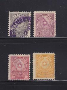 Paraguay 209, 211, 213, 216 U Coat of Arms