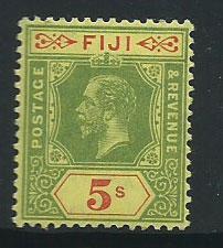 Fiji  GV  SG 136  MVLH
