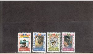 FAROE ISLANDS 270-273 MNH 2014 SCOTT CATALOGUE VALUE $5.75