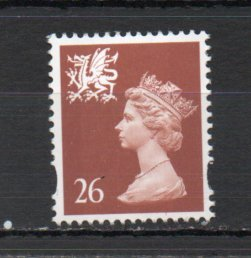 Great Britain - Wales WMMH74 MNH