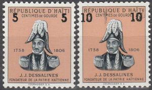 Haiti #454-5  MNH F-VF (SU3088L)