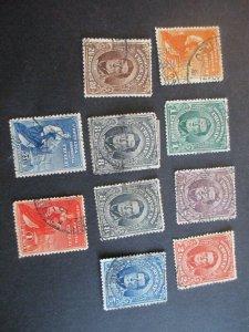 Uruguay #187-95 Used WDWPhilatelic (H5K7)