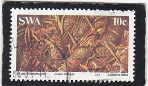 South West Africa,  #   516    used