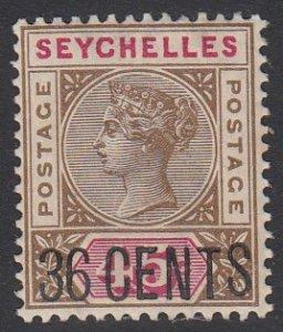 Seychelles 28 MNH CV $12.00