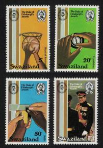 Swaziland Basketball Duke of Edinburgh Award Scheme 4v SG#385-388 SC#391-394