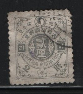 KOREA, 18, USED, 1900-01, STYLIZED YIN YANG