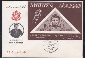 Jordan # 462a (Footnote), John F. Kennedy Memorial First Day Cover