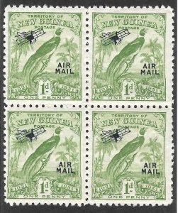 Doyle's_Stamps: MNH British New Guinea  Airmail Block of  Scott #C15**