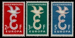 Luxembourg 341-3 MNH EUROPA