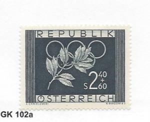 Austria, B277, Austrian Olympic Athletes Single, **VLH** (LL2018)