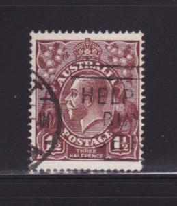 Australia 24 U King George V (A)