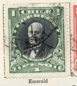 Chile 1911 Early Issue Fine Used 1P. NW-11447