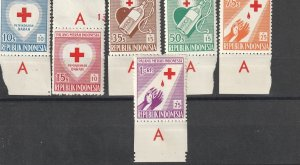 Indonesia Mint OGNH w/tabs #191217-8