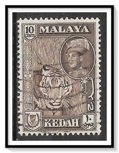 Kedah #100 Sultan Abdul Halim & Tiger Used