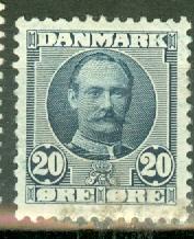 Denmark 74 mint CV $19